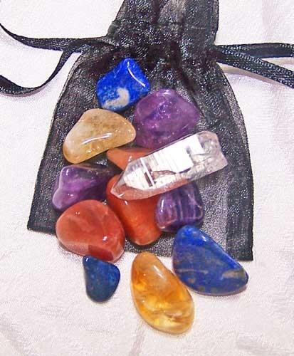 Mindfulness Medicine Stone Pouch