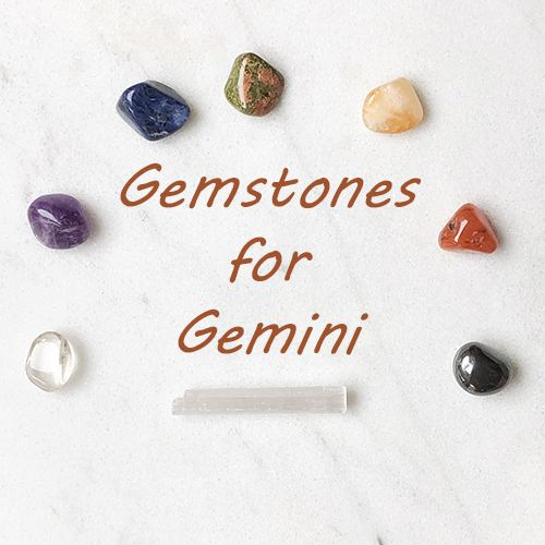 Gemstones for Gemini! — Reiki Gem Wellness