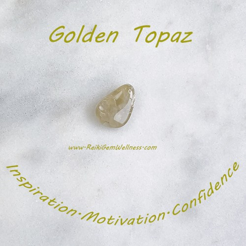 Healing Benefits of Golden Topaz: Stone of Inspiration — Reiki Gem Wellness