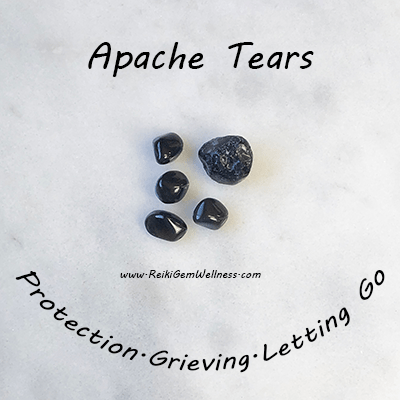 Healing Benefits of Apache Tears: Stone of Recovery — Reiki Gem Wellness