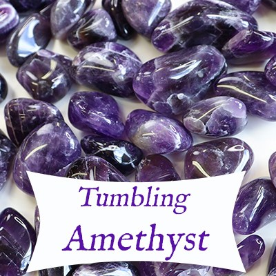 Tumbling Amethyst – From Start to Finish! — Reiki Gem Wellness