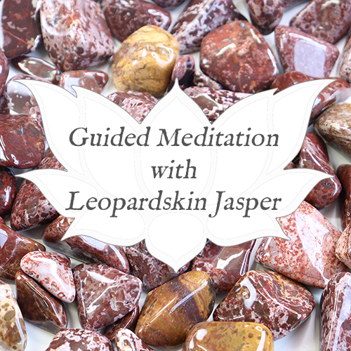 LEOPARDSKIN JASPER Guided Meditation for Practical Crystal Healing — Reiki Gem Wellness
