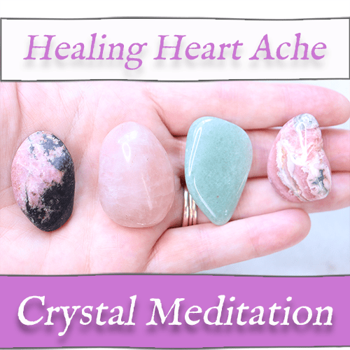 HEALING HEARTACHE Meditation 🙏 Crystal Guided Meditation for Easing Wounds of the Heart! — Reiki Gem Wellness