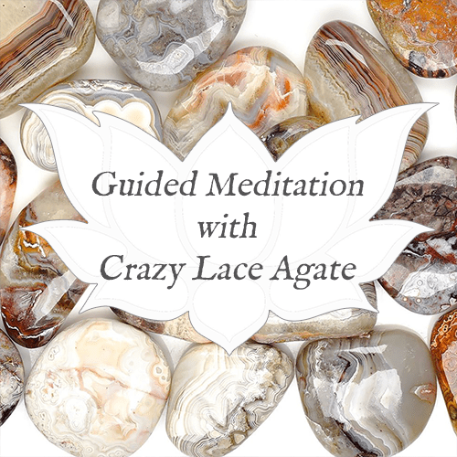 CRAZY LACE AGATE Guided Meditation for Practical Crystal Wisdom — Reiki Gem Wellness